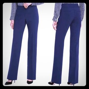 Ann Taylor Signature Navy Blue Trousers Size 14